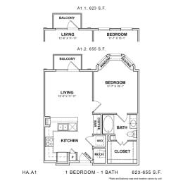 Floor Plan HA.A1