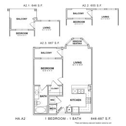 Floor Plan HA.A2