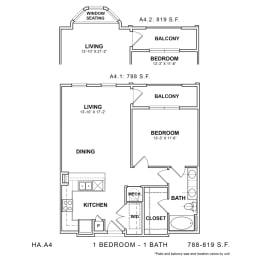 Floor Plan HA.A4