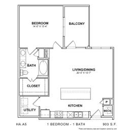 Floor Plan HA.A5