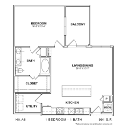 Floor Plan HA.A6