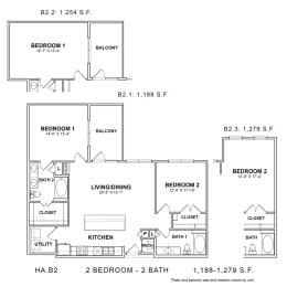 Floor Plan HA.B2