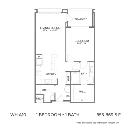Floor Plan WH.A10
