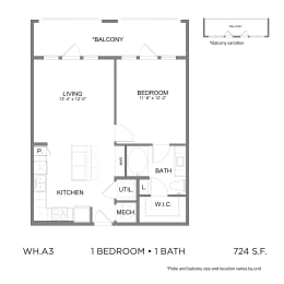 Floor Plan WH.A3
