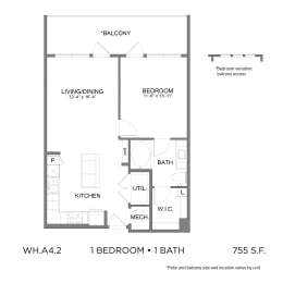 Floor Plan WH.A4.2