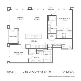 Floor Plan WH.B11
