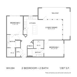 Floor Plan WH.B4