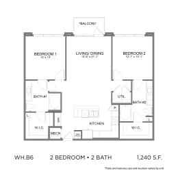 Floor Plan WH.B6