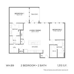 Floor Plan WH.B9