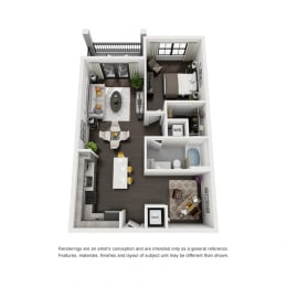 Floor Plan A2-A