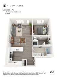 Jasper Floor Plan at Clovis Point, Colorado, 80501