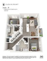 Jadejpg Floor Plan at Clovis Point, Longmont, CO, 80501