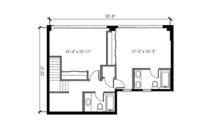 Floor Plan 2x2.5 Den TH