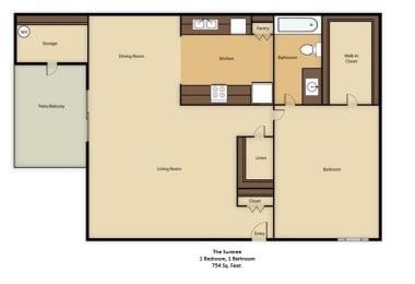 Floor Plan The Suntree