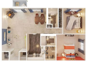 Grand Floor Plan ParkView