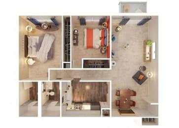 Polk Floor Plan