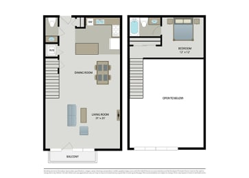 Floor Plan Manhattan – Loft