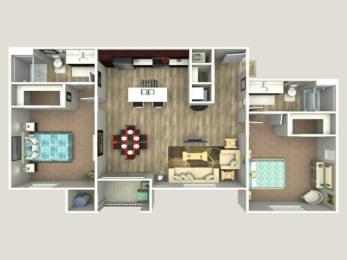 Floor Plan Peralta