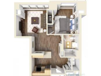 1A Floor Plan |Hartford 21