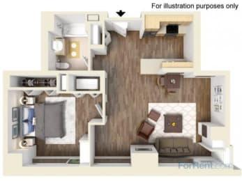 1E Floor Plan  Hartford 21