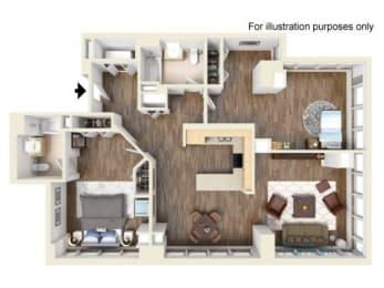 2K Floor Plan  Hartford 21