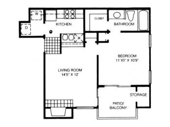 A3 Floor Plan |High Oaks