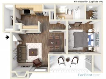 A7 Floor Plan |High Oaks