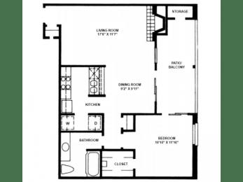 A9 Floor Plan |High Oaks