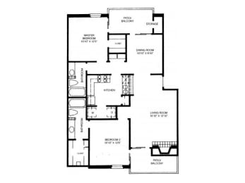 B11 Floor Plan |High Oaks