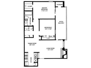 B1 Floor Plan |High Oaks
