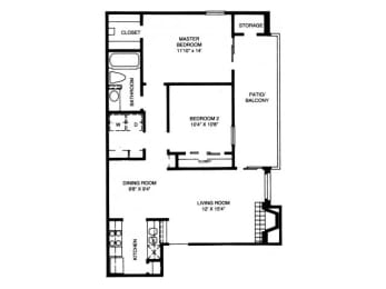 B2 Floor Plan |High Oaks