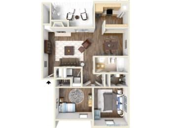B4 Floor Plan |High Oaks
