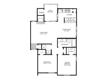 B5 Floor Plan |High Oaks