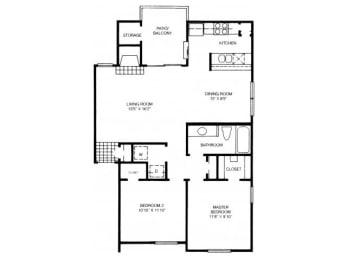 B6 Floor Plan |High Oaks