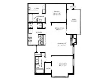 B8 Floor Plan |High Oaks