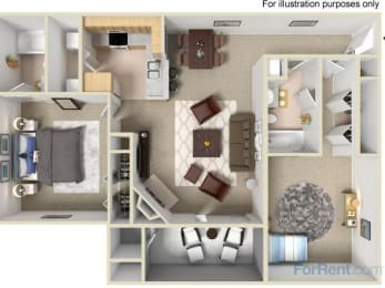The Basswood Floor Plan |Pavilions