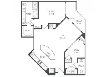 A10S Floor Plan |District of Rosemary