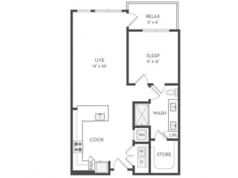 A6 Floor Plan |District of Rosemary