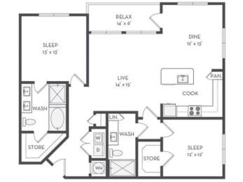 B5 Floor Plan |District of Rosemary