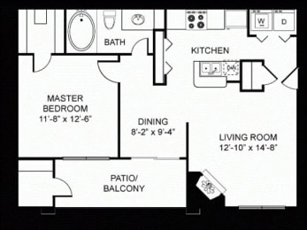 A2 Floor Plan |Walnut Creek