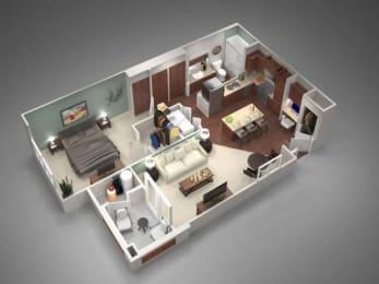 1A Floor Plan| Villas at San Dorado