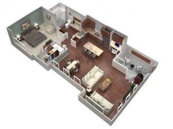 1G Floor Plan| Villas at San Dorado