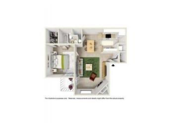 Floor Plan A1E
