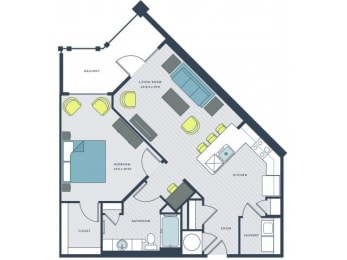 Gadsen Floor Plan  Wharf 7
