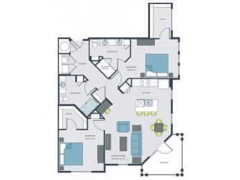 Joe Floor Plan  Wharf 7