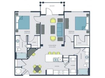 Marshall Floor Plan  Wharf 7