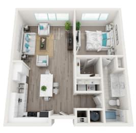 Floor Plan 1A Aria