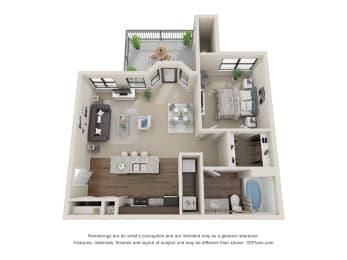 Floor Plan Schooner