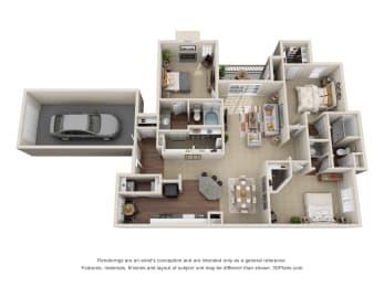 Floor Plan C1 Cavalli