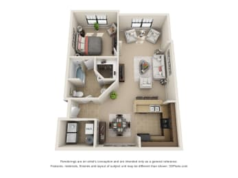 Floor Plan The Aura